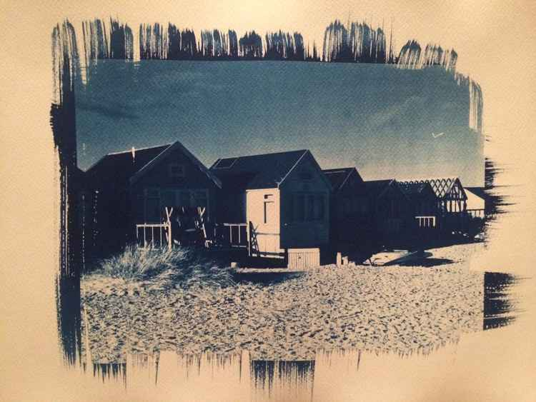 Beach huts at Mudeford, Dorset -