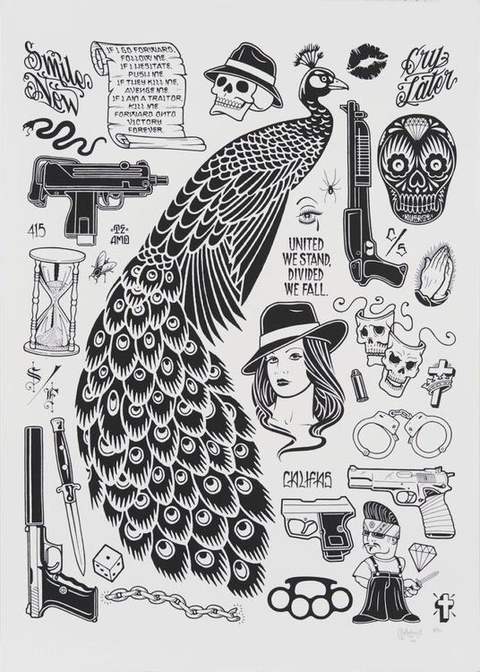 Peacock Print - Image 0