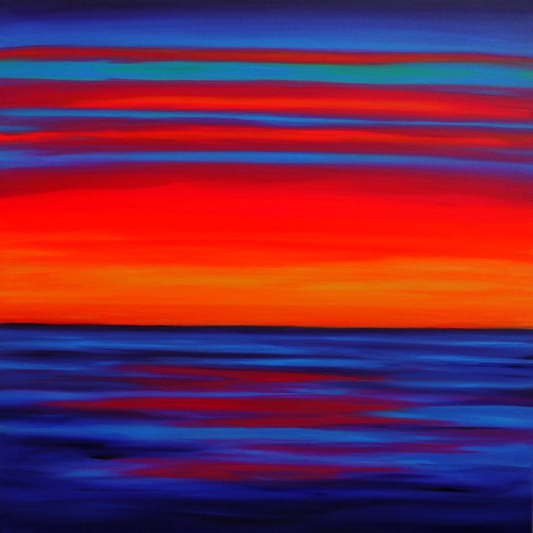 Orange Coloured Sky - Image 0
