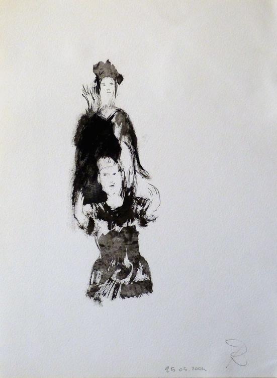 Polichinelle, 24x32 cm - Image 0