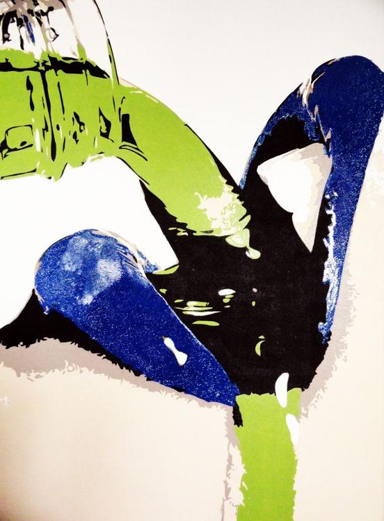 Blue Lipstick! - Image 0