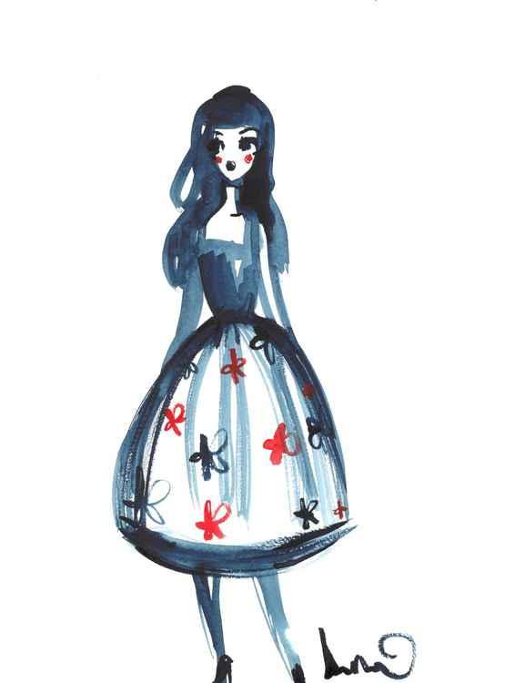 Blue Doll -