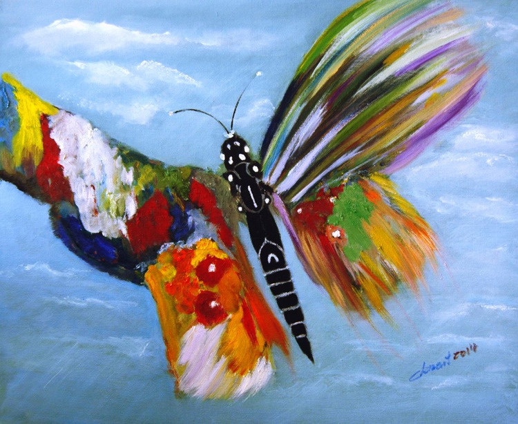 OP-007 The Happy Butterfly - Image 0