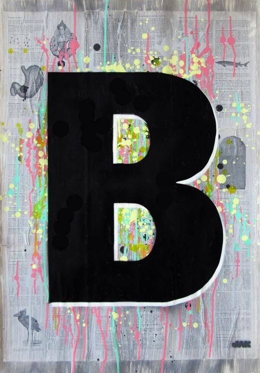 B - Helvetica Heavy Condensed - Image 0