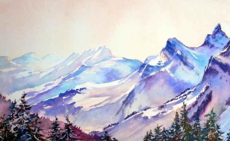 Alpine Glow -