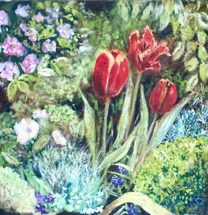 Ruby Tulips - Image 0