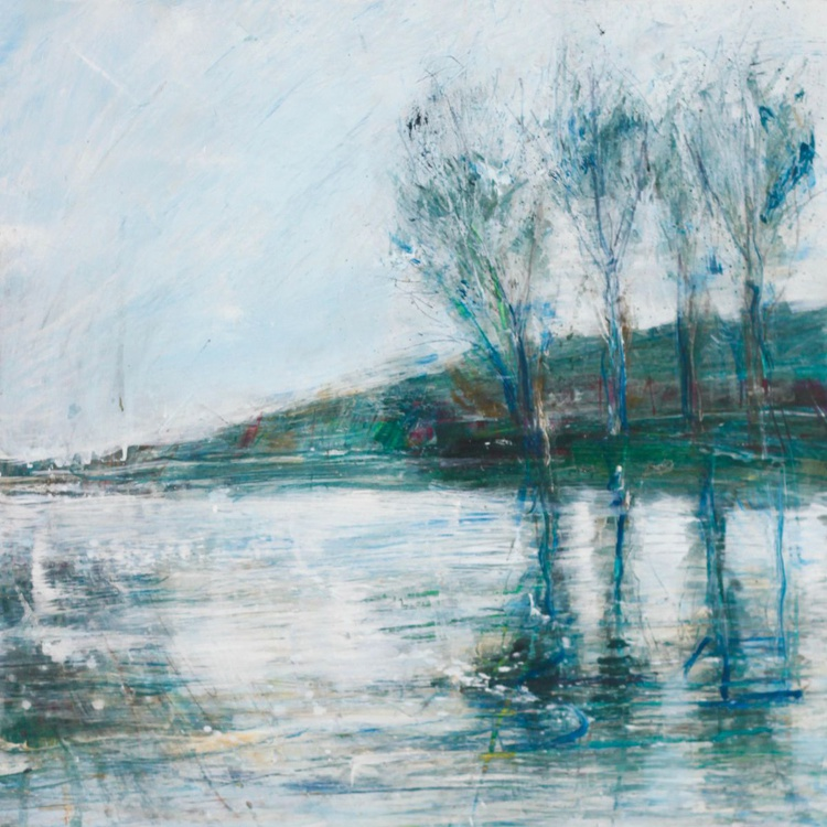 Winter Trees on the Ouse - winter light - Image 0
