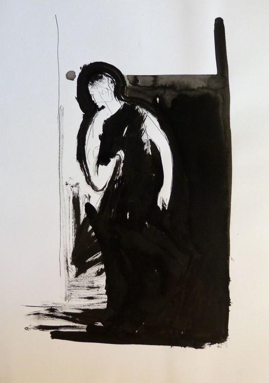 Silhouette, 29x42 cm - Image 0