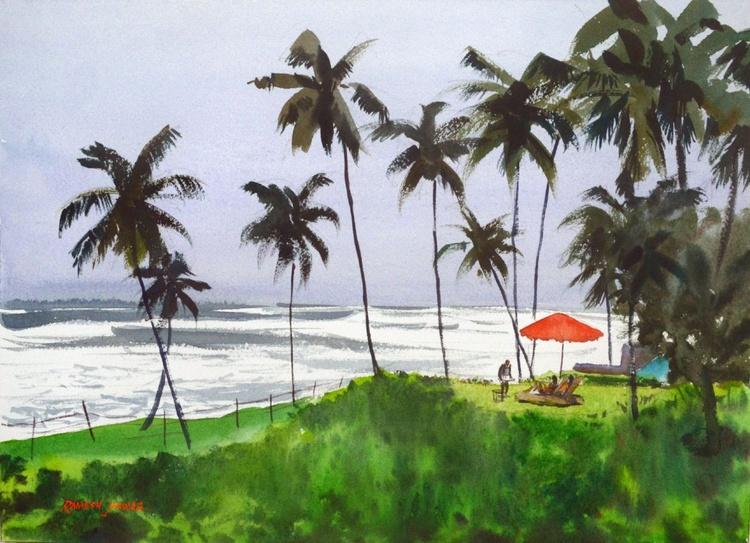 A Private View of the Sea, Goa - Image 0
