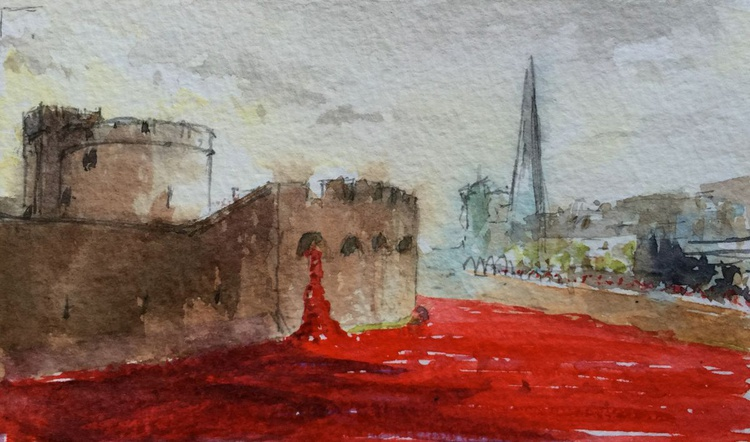 Tower Poppies 2 - Image 0