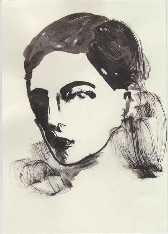 Ink Portrait 210616/1