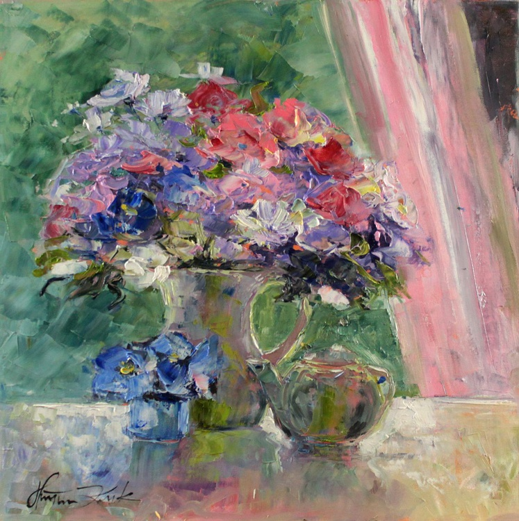 Bouquet in vase - Image 0
