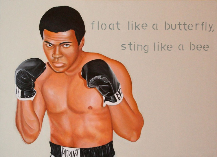 float like a butterfly, sting like a bee - Image 0