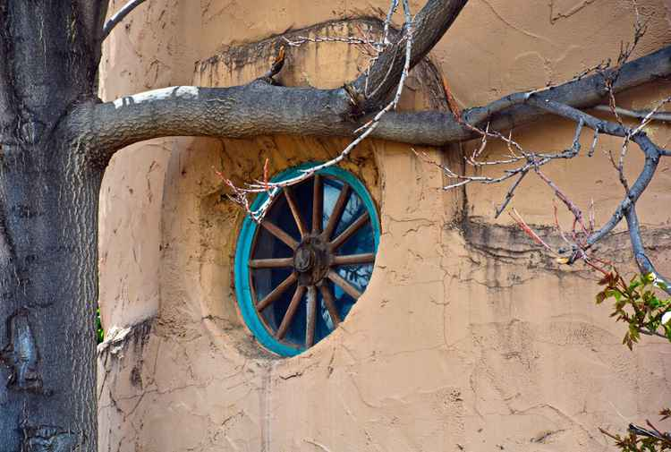 Santa Fe Adobe Window  -