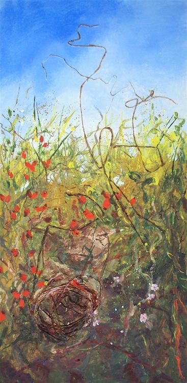 Autumn Hedgerow & Wren - Image 0
