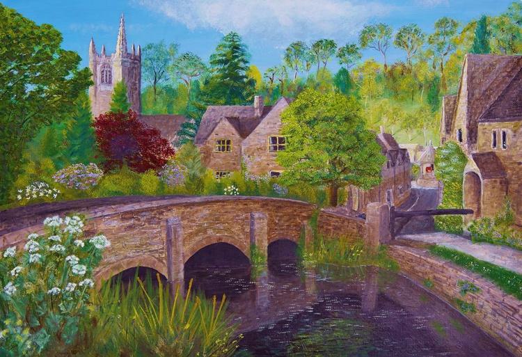 A fairytale village (Castle Combe) - Image 0