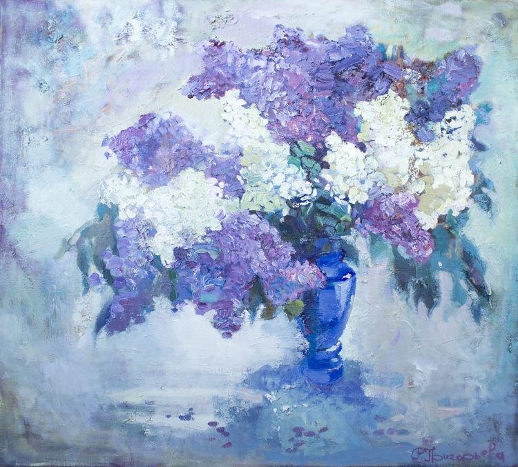 Lilac in blue - Image 0