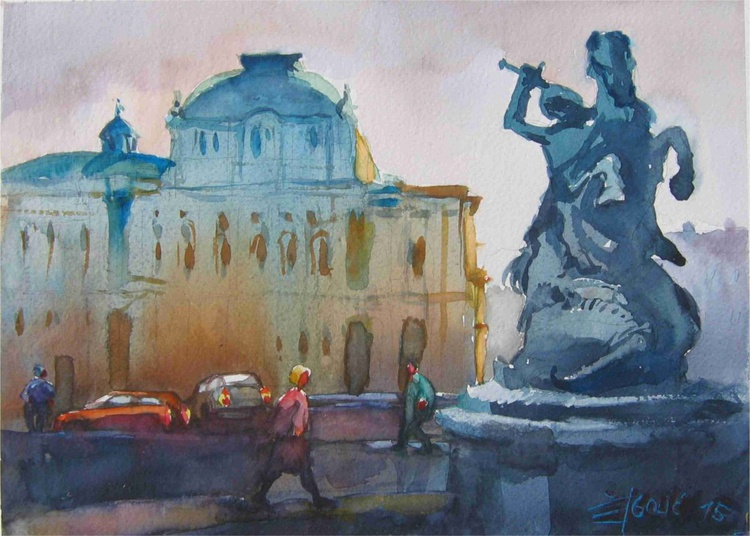 Zagreb,Croatia,Croatian National Theatre - Image 0
