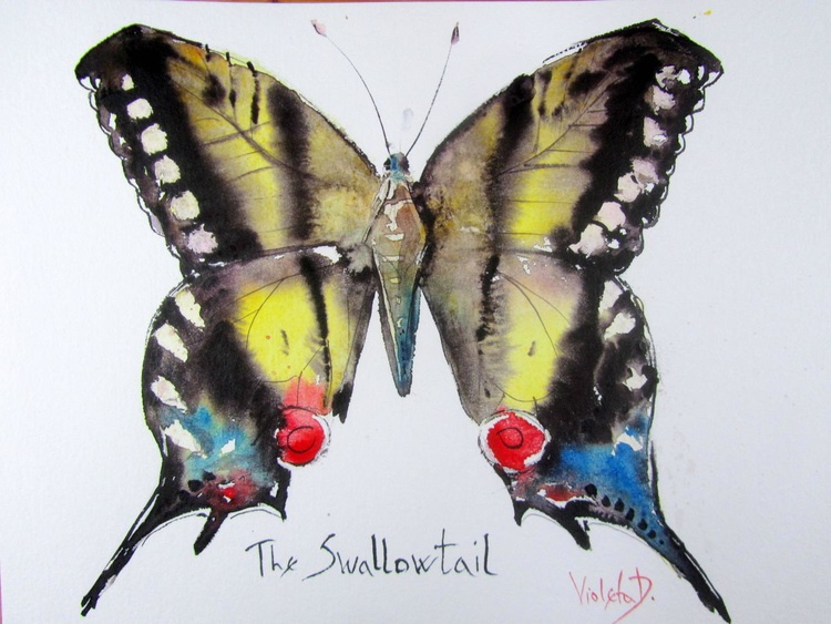The Swallowtail (Papilio Machaon) - Image 0