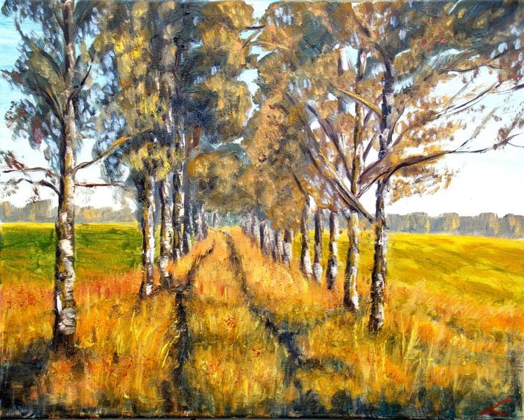 Golden road - Image 0