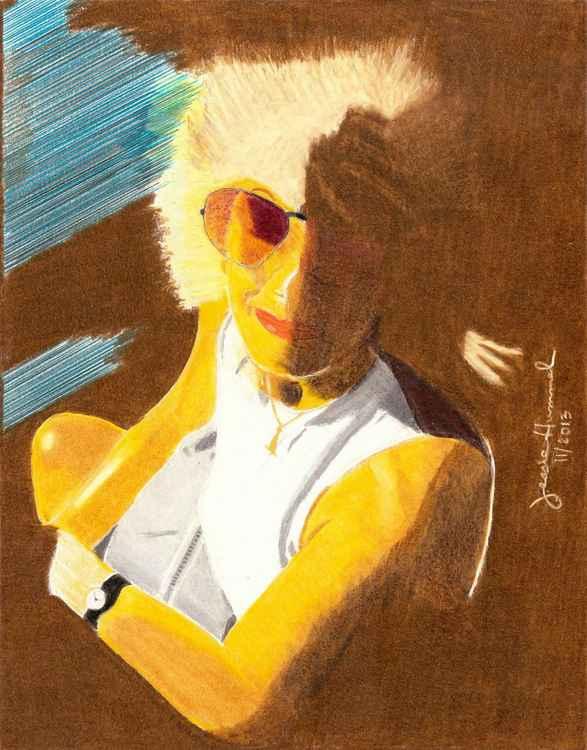Lady at Sundown -