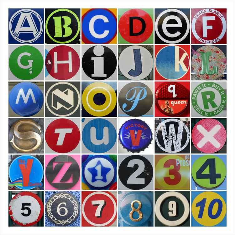 A-Z 1-10 -