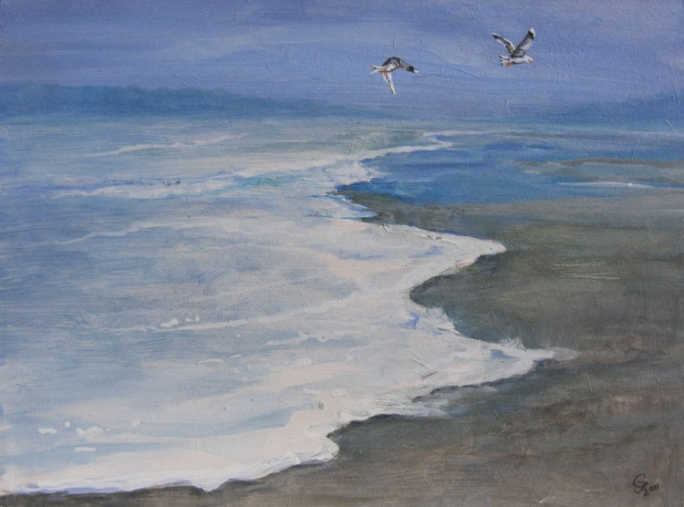 Two seagulls - Image 0