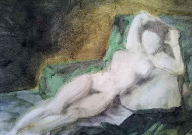 NUDE STUDY (After Goya)