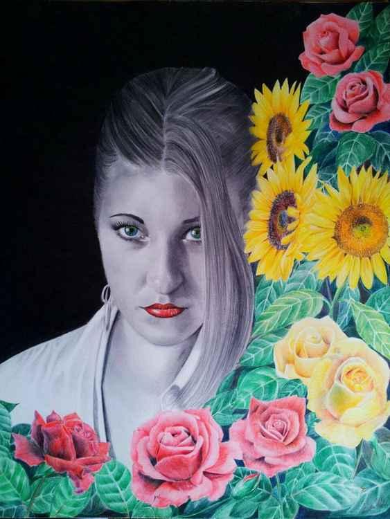 "Portrait ""Georgeva"" -"