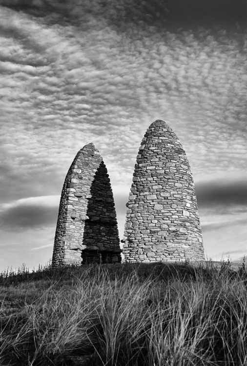 Aignish Memorial Cairn - Isle of Lewis