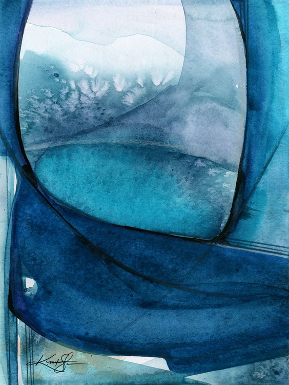 Ethereal Moments 3 - Abstract Watercolor Painting - Image 0