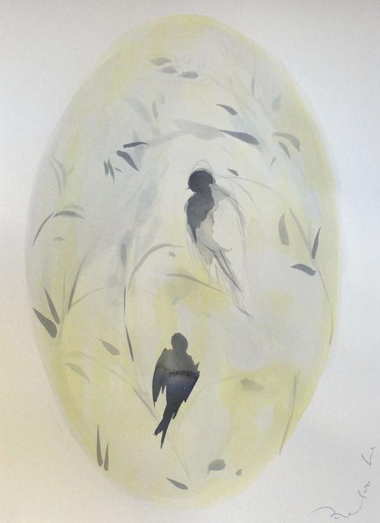 Birds of Carros #49, 29x41 cm - Image 0
