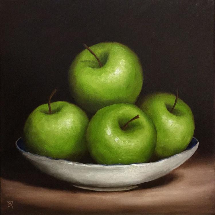 Green Apple dish - Image 0