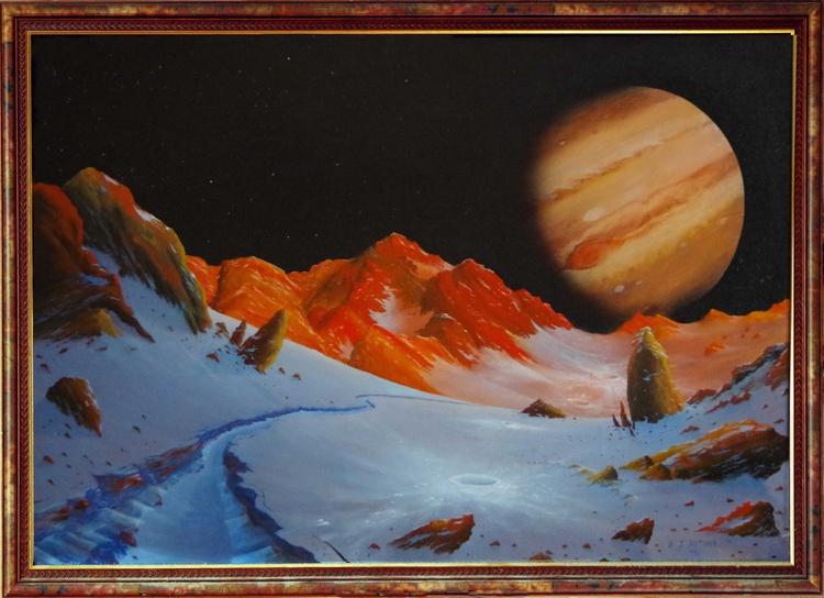 Jupiter from Ganymede - Image 0