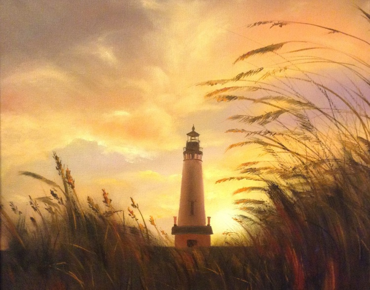 the lighthouse's light outside - Image 0