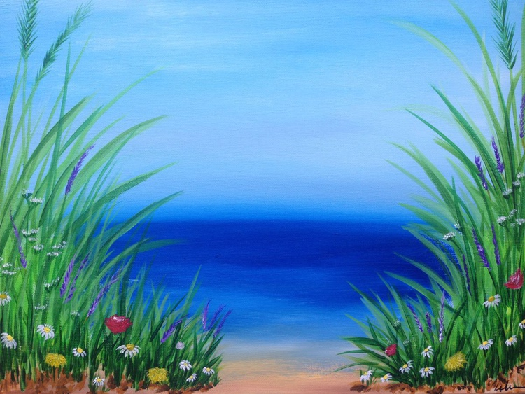 Meadow By The Sea - Image 0