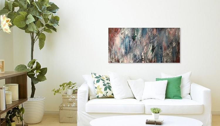 Trees | Original Painting | 45.7 x 91.4 | 2015 - Image 0