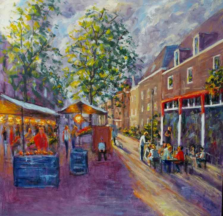 Market cafe (amsterdam) -