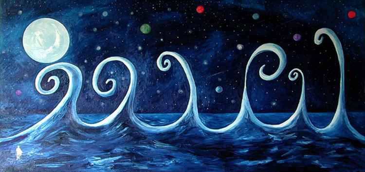 The Ocean, The Moon and The Stars -