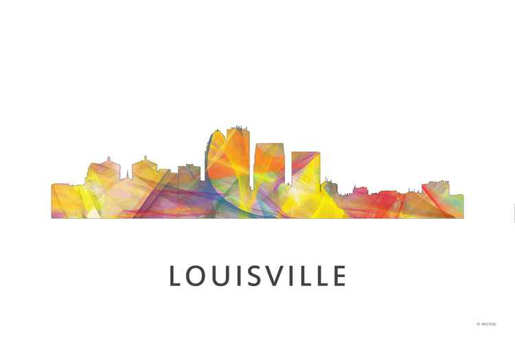 Louisville Kentucky Skyline WB1 -
