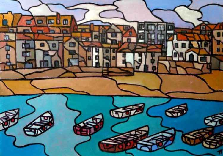 Harbour boats, St Ives