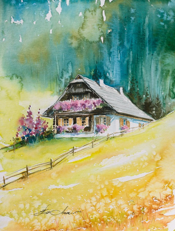 Alpine cottage - Image 0