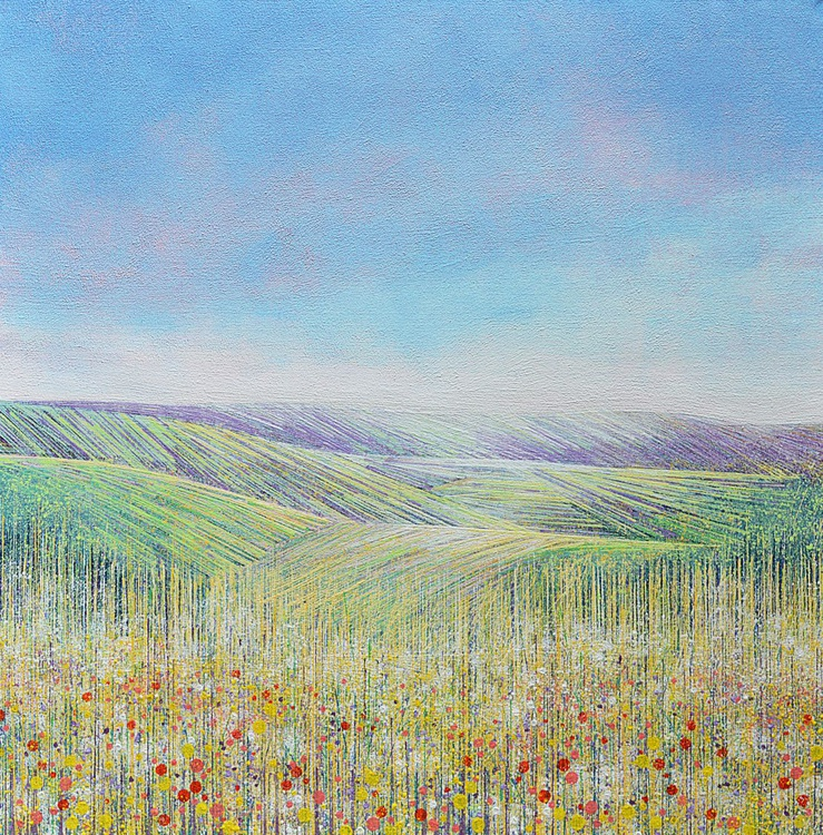 Wild Flower Meadow with Poppies - Image 0