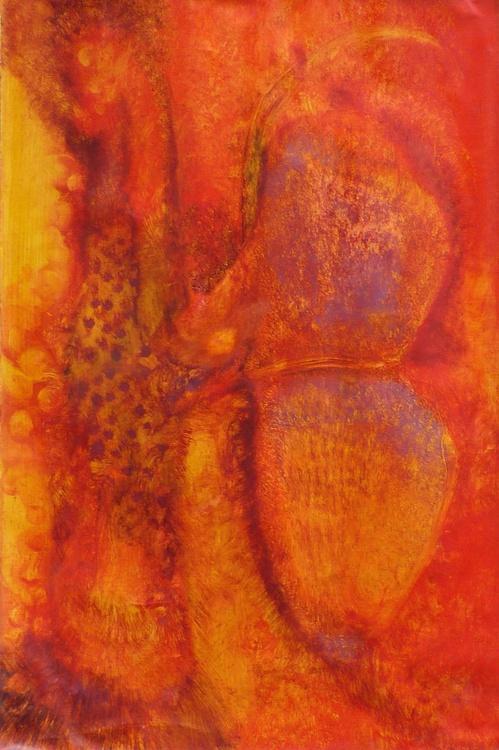 Metafigure #61, oil on canvas 81x54 cm - Image 0