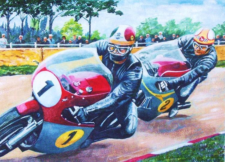 Agostini and Hailwood 1967 - Image 0