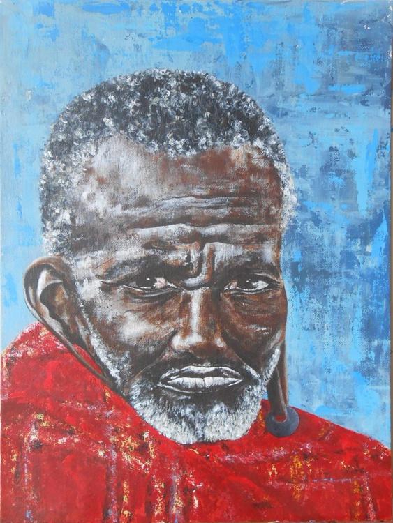 Summer in Kenya: Masai Man - Image 0