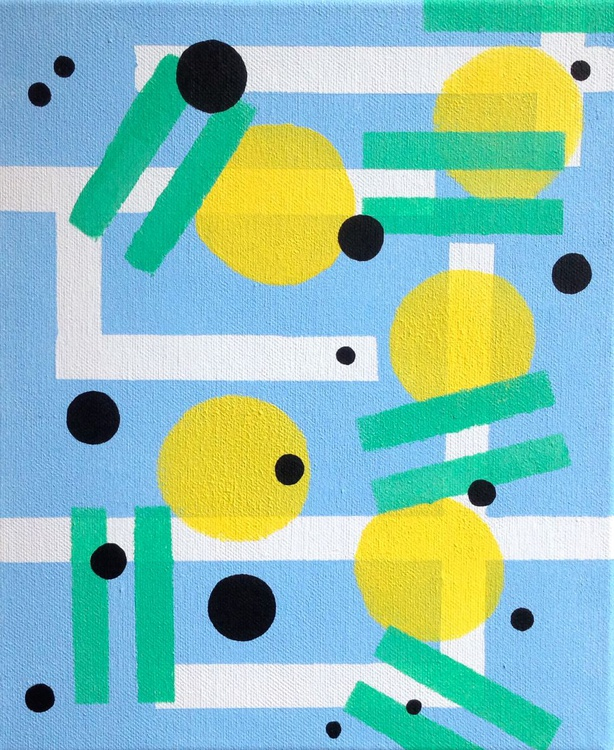Abstract 4 Acrylic On Canvas - Image 0