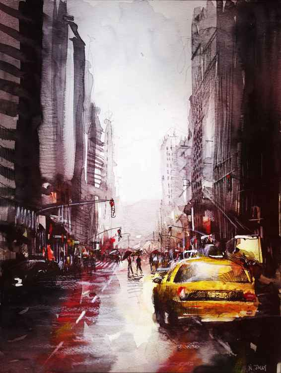 New York after the rain -