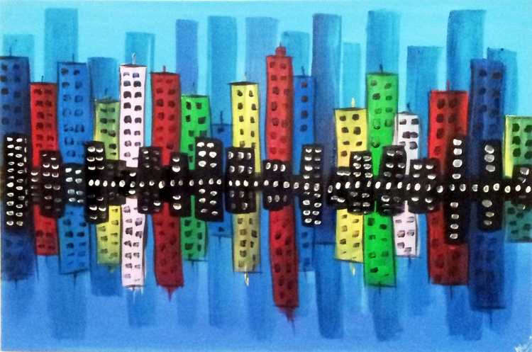 Colourful Cityscape - Image 0
