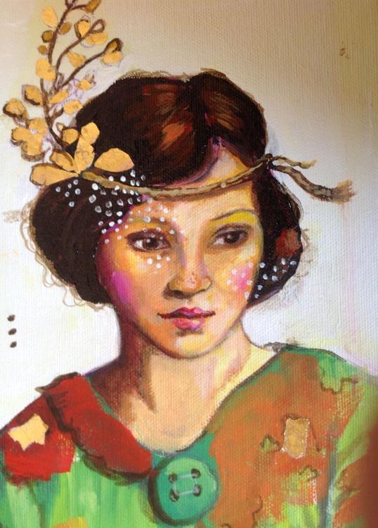 Ramona with Gold - Image 0